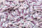 Zeugnis des Gelddarlehens zwischen ernsthaften Personen in Deutschland.